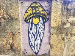 Porto offers a variety of interesting and beautiful graffity, this one was my favourite.