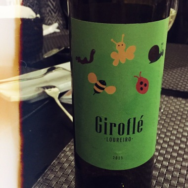 """""""In Porto we like to make our wine child-friendly, gotta encourage them when they're young"""", the waiter at Traça says jokingly when I pointed out the design. Such a cute bottle of green wine!"""