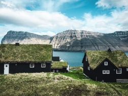 The black houses of Mikladalur